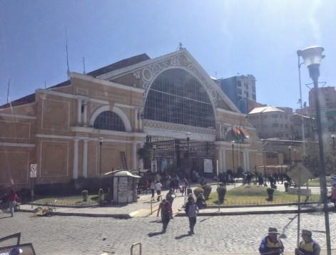 Bus terminal, La Paz, Bolivia