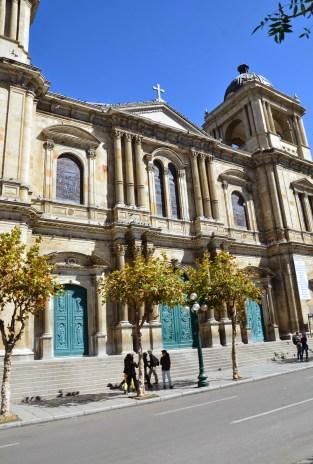 Catedral Metropolitana in La Paz, Bolivia