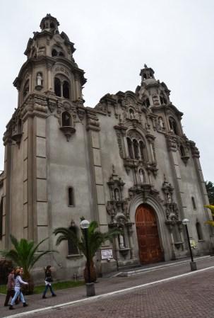Iglesia de la Virgen Milagrosa in Miraflores, Lima, Peru
