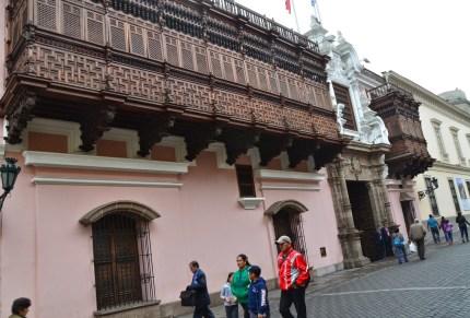 Palacio Torre Tagle in Lima, Peru