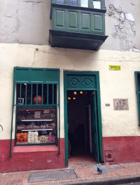 La Puerta Falsa in La Candelaria, Bogotá, Colombia