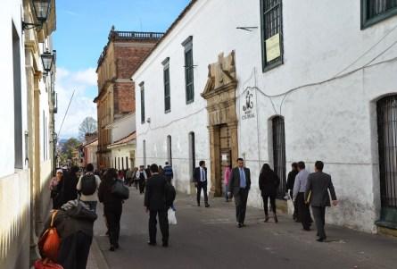 Museo de Arte Colonial in La Candelaria, Bogotá, Colombia