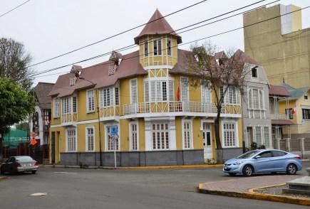 Avenida Sáenz Peña in Barranco, Lima, Peru