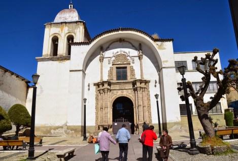 Iglesia de San Pedro in La Paz, Bolivia