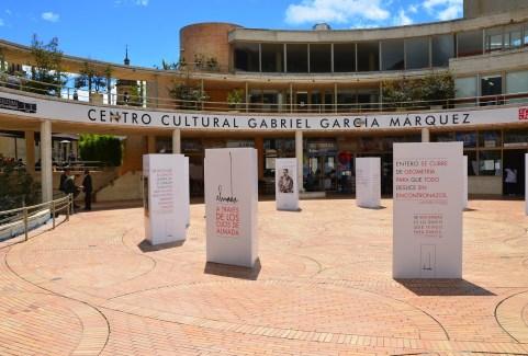 Centro Cultural Gabriel García Márquez in La Candelaria, Bogotá, Colombia