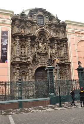 Iglesia de San Agustín in Lima, Peru