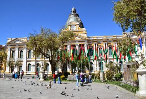 Palacio de Gobierno in La Paz, Bolivia