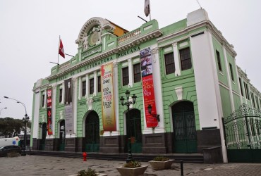 Estación de Desamparados in Lima, Peru