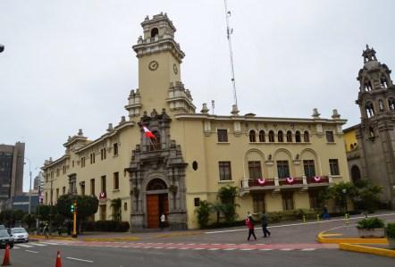 Municipalidad Distrital de Miraflores in Miraflores, Lima, Peru