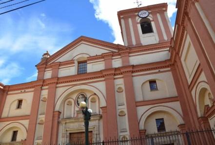 Iglesia de San Ignacio in La Candelaria, Bogotá, Colombia