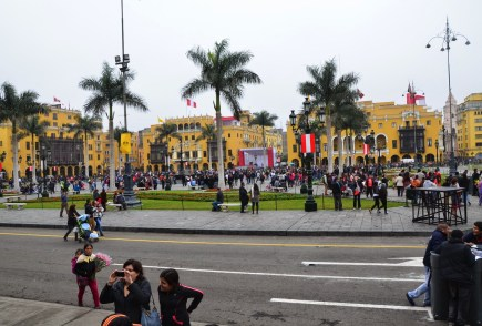 Plaza Mayor in Lima, Peru