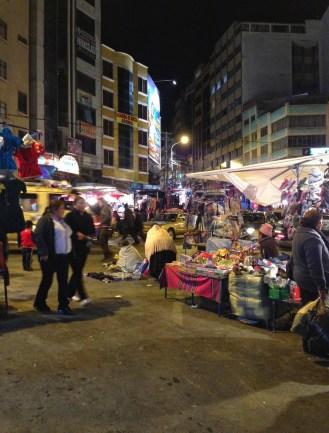 Mercado Negro in La Paz, Bolivia