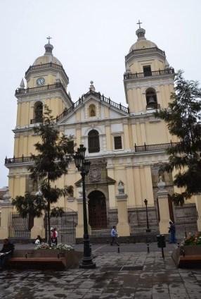 Iglesia de San Pedro in Lima, Peru