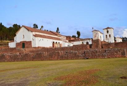 Iglesia de Nuestra Señora de Monserrat in Chinchero, Peru