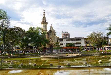 Parque El Lago in Pereira, Risaralda, Colombia