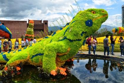 Event at Plaza Mayor in the Feria de las Flores, Medellín, Antioquia, Colombia