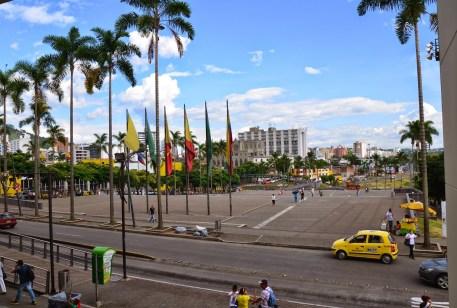 Plaza Victoria in Pereira, Risaralda, Colombia