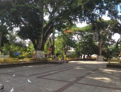 Parque de los Fundadores in La Virginia, Risaralda, Colombia