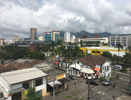 View from Hotel Castilla Real in Pereira, Risaralda, Colombia