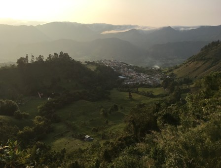 View of Guática, Risaralda, Colombia