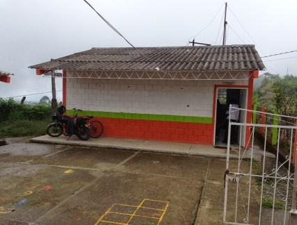 The school in La Tribuna, Belén de Umbría, Risaralda, Colombia