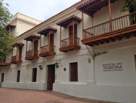 Museo del Oro Tairona in Santa Marta, Magdalena, Colombia
