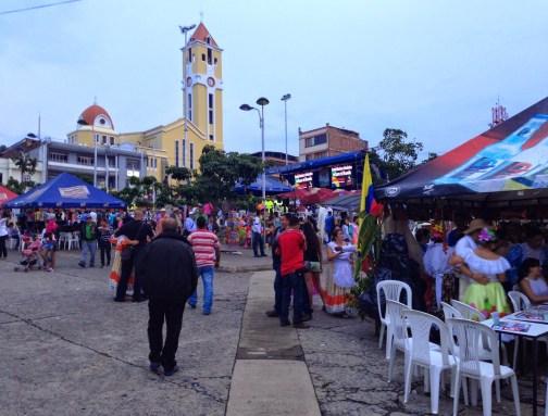 Fiesta in Belén de Umbría, Risaralda, Colombia