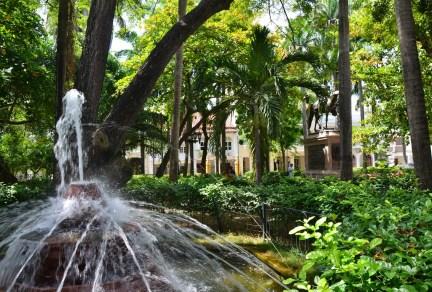 Parque de Bolívar in El Centro, Cartagena, Bolívar, Colombia