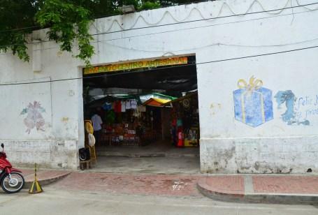 Centro Artesenal in Santa Marta, Magdalena, Colombia