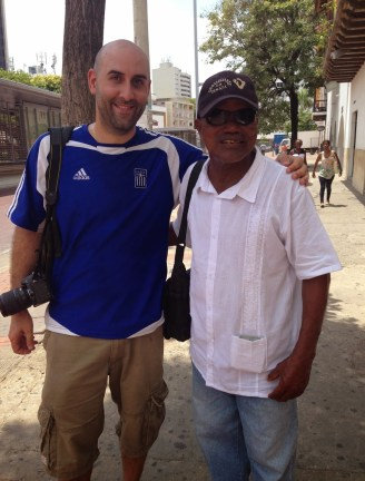Me and Mauricio in Cartagena, Bolívar, Colombia