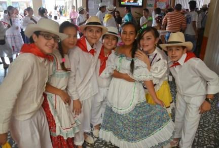 Parade in Belén de Umbría, Risaralda, Colombia