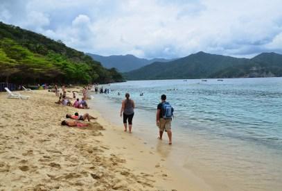 Playa Cristal at Tayrona National Park in Colombia