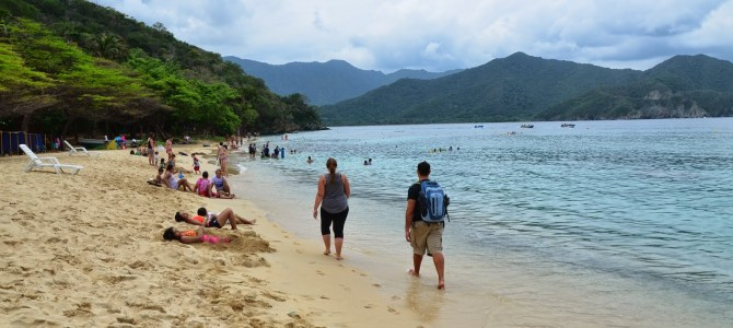 Playa Cristal at Tayrona
