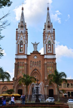Church in Marsella, Risaralda, Colombia