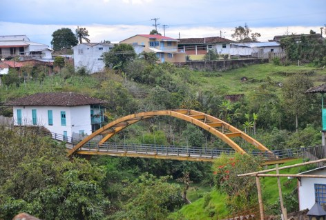 Bridge in Salento, Quindío, Colombia