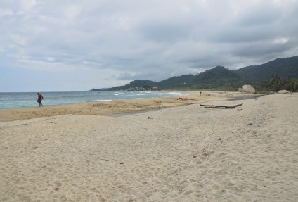 Arrecifes at Tayrona National Park in Colombia