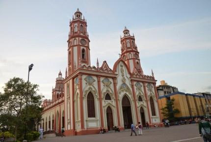 Iglesia de San Nicolás in Barranquilla, Atlántico, Colombia