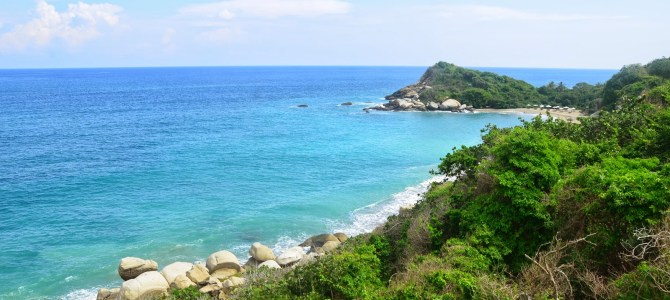 Hiking in Tayrona
