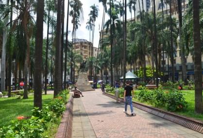 Plaza de Caicedo in Cali, Colombia
