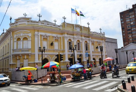 Teatro Municipal in Cali, Colombia
