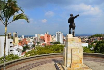 Sebastián de Belalcázar statue in Cali, Colombia