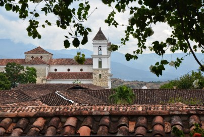 View from Hotel Mariscal Robledo in Santa Fe de Antioquia, Colombia