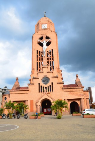 Church in Quimbaya, Quindío, Colombia