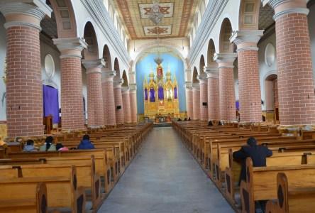 Cathedral on Plaza de la Independencia in Ipiales, Nariño, Colombia