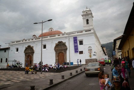 Monasterio de Santa Clara in Quito, Ecuador