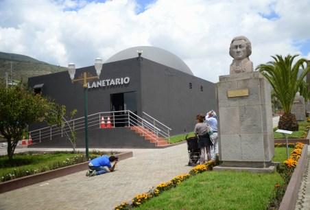 Planetarium at Mitad del Mundo in Ecuador
