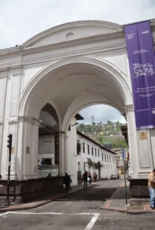 Arco de la Reina in Quito, Ecuador