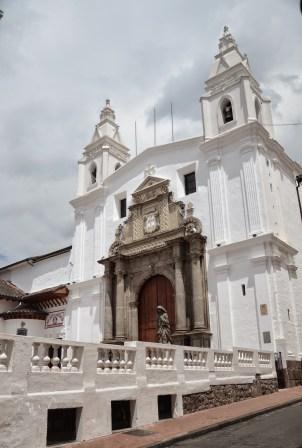 Monasterio de Carmen Alto in Quito, Ecuador
