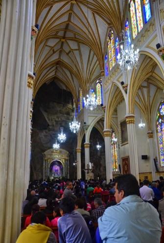 Santuario de Las Lajas near Ipiales, Nariño, Colombia