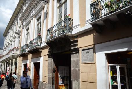 Casa de María Augusta Urrutia in Quito, Ecuador